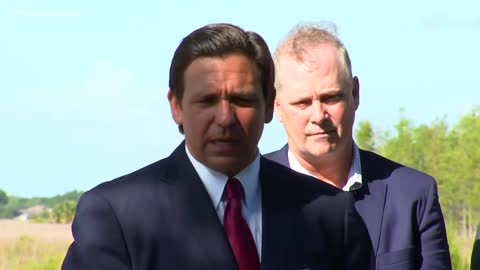 Governor DeSantis and CDC Cruise Suit