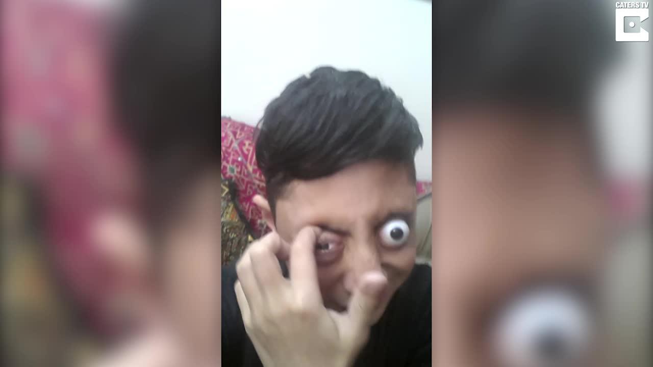– Læreren sa jeg hadde store øyne