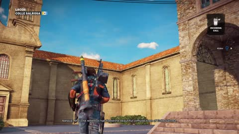 Just Cause 3 Demo Gameplay part 30 LACOS Colle Salrosa View