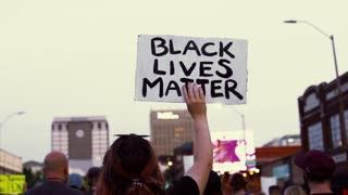 Demonstration of BLACK LIFE MATTERS