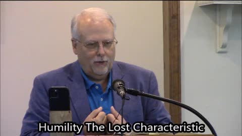 Humility, The Lost Characteristic