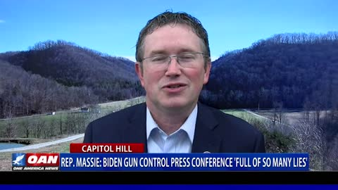 Rep. Massie: Gun control press conference 'full of so many lies'