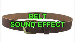 Belt sound effect copyright free