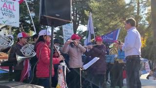 StopTheSteal _ California State Capitol Protest Sacramento, CA Week 4 November 28, 2020 IMG 2814