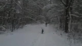 Snowshoeing past time in Ontario Canada....Coming Soon
