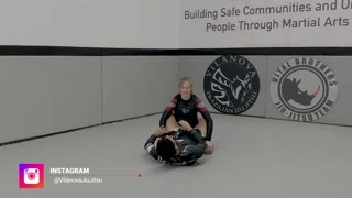 No-Gi - Transition from Closed Guard to Back
