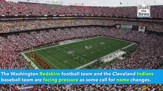 Donald Trump responds to calls to change the name of the Redskins and Indians