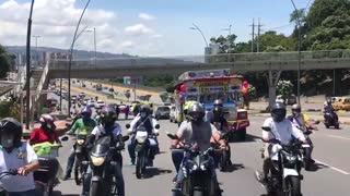 Avanza caravana de este 21 de septiembre en Bucaramanga