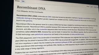 COVID VACCINE CHANGES DNA & HAS ABORTED FETAL TISSUE!