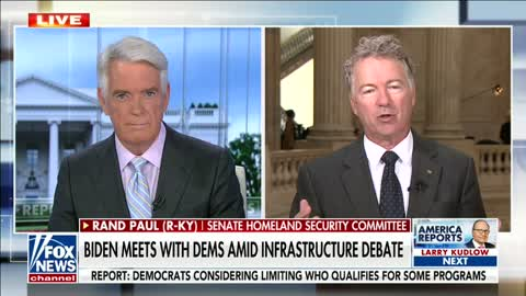 """""""It's a Lie That They are Only Going After the Rich"""" Dr. Paul discusses the Infrastructure Bill"""