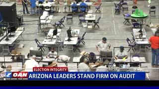 Ariz. leaders stand firm on audit