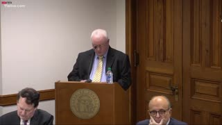 Mark Davis' Testimony During Georgia Senate Hearing on Election Fraud