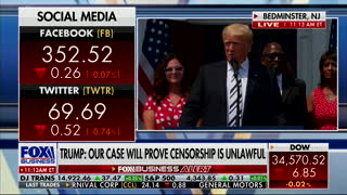 President Trump Gives Powerful Message on Free Speech