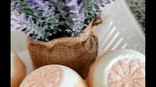 All Natural Bath Bomb scented with Essential Oils