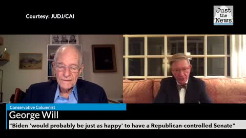 George Will: Biden 'would probably be just as happy' to have a Republican-controlled Senate