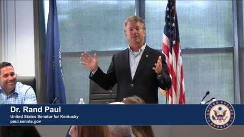 Dr. Rand Paul Visits Cold Springs, Kentucky