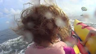 Gulf Shores, Alabama Ocean Tube Ride