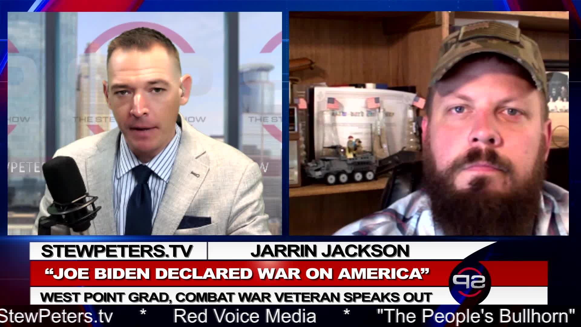 New Stew Peters – Brass Tacks! – Joe Biden Has Declared War On America! The Real Insurrection! – Must Video