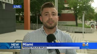 REPORT: 25 AR-15 RIFLES MISSING FROM MIAMI POLICE DEPARTMENT'S INVENTORY