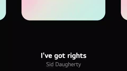 I've Got Rights by Side Daugherty