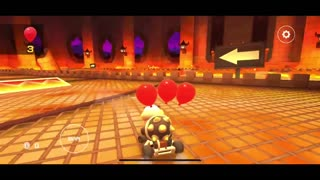 Mario Kart Tour - Baby Luigi Cup Challenge Steer Clear of Obstacles Gameplay
