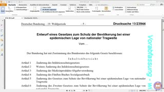 INFEKTIONSSCHUTZGESETZ, ALT vs. NEU!