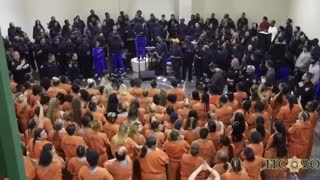 Kanye West performance at Harris County Jail
