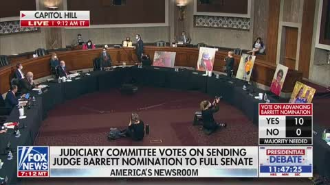 How Dems Just Responded to Amy Coney Barrett Judiciary Vote SAYS IT ALL