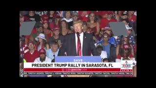 President Trump Hosts Save America Rally In Sarasota, FL 7/3/2021