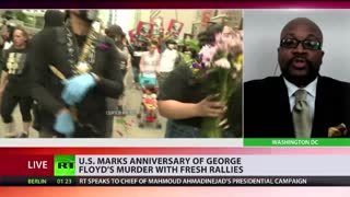 Christopher Harris discusses George Floyd