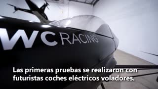 Carreras de coches voladores; la F-1 del futuro en el desierto de Australia