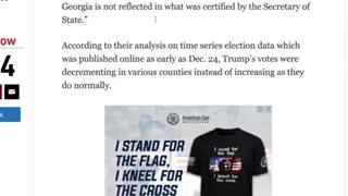 SCIENCE Finds 17,650 Trump Votes In Georgia!