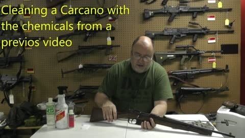 Cleaning an old Carcano for the first time