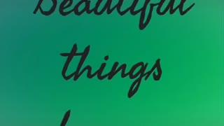 Beautiful things in life