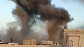 Attack On Gaza Strip This Morning