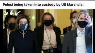 Was Nancy Pelosi Taken Away?