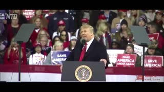 TRUMP CALLS OUT DEMOCRATS FOR DEAD PEOPLE VOTING! VICTORY RALLY