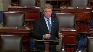 """Rand Paul SHREDS Congress to Their Faces Over """"MONSTROUS"""" Relief Bill"""