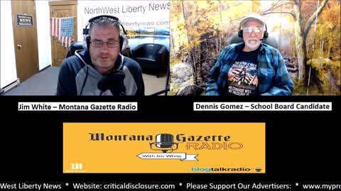 Dennis Gomez is Running for School Board in Montana's District 5