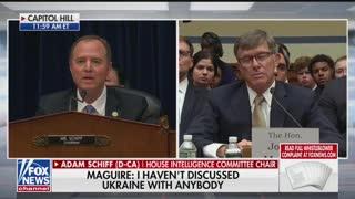 Schiff final remarks whistleblower hearing Part 1
