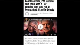 Nobel Laureate PCR inventor Kary Mullis on fraud Fauci