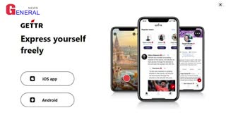 Former President Donald Trump opens new social network GETTR
