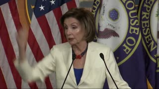 Nancy Pelosi Talking About Required Masks But Not Wearing One Herself!!!