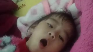 Funny laugh - She's a happy baby!