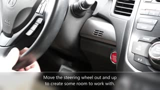 Acura RDX: Phone Mount / A-Tach 50246 Installation Video