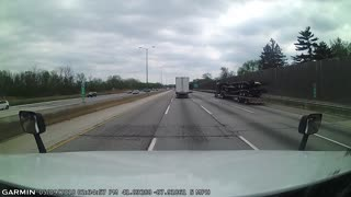 Semi Driver Causes Massive Accident on Freeway