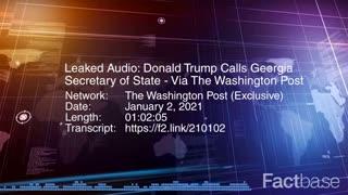 Full call Trump to Georgia Secretary of State