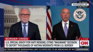 "Biden DHS Secretary Alejandro Mayorkas: ""We don't use the term illegal immigrants."""
