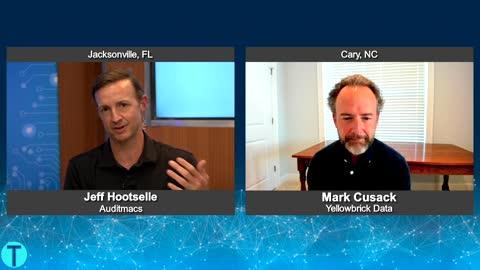 """Tech Talk USA"" with Mark Cusack from Yellowbrick Data"