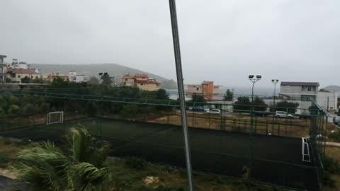 Storm in Ksamil